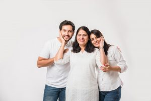 A family seeking treatment for genetic sleep apnea.