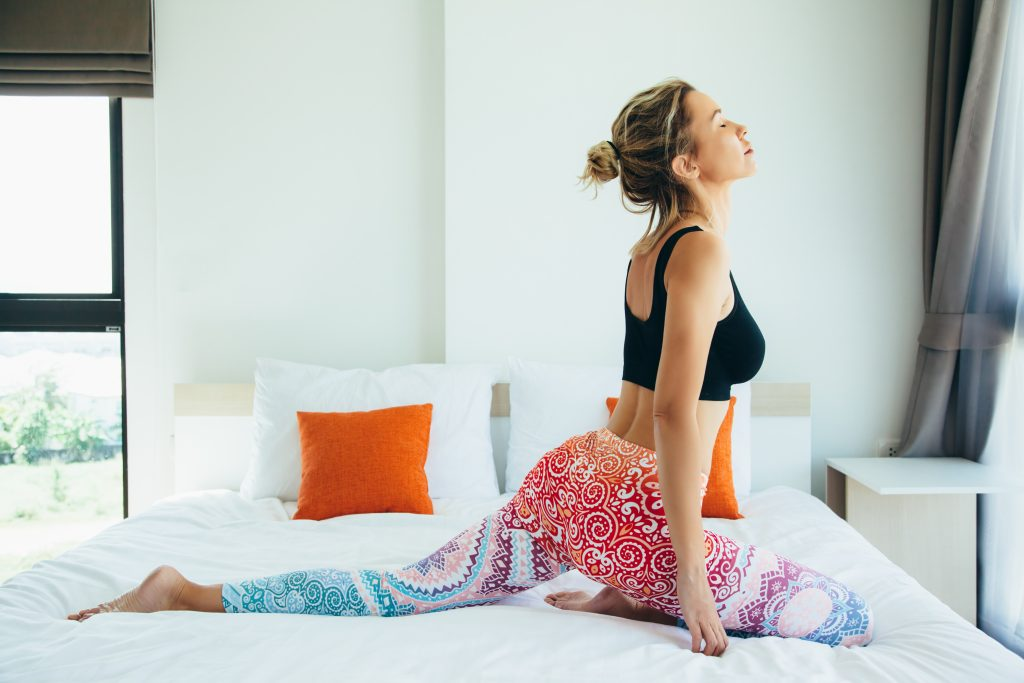Five Exercises to Do Before Bed for Better Sleep